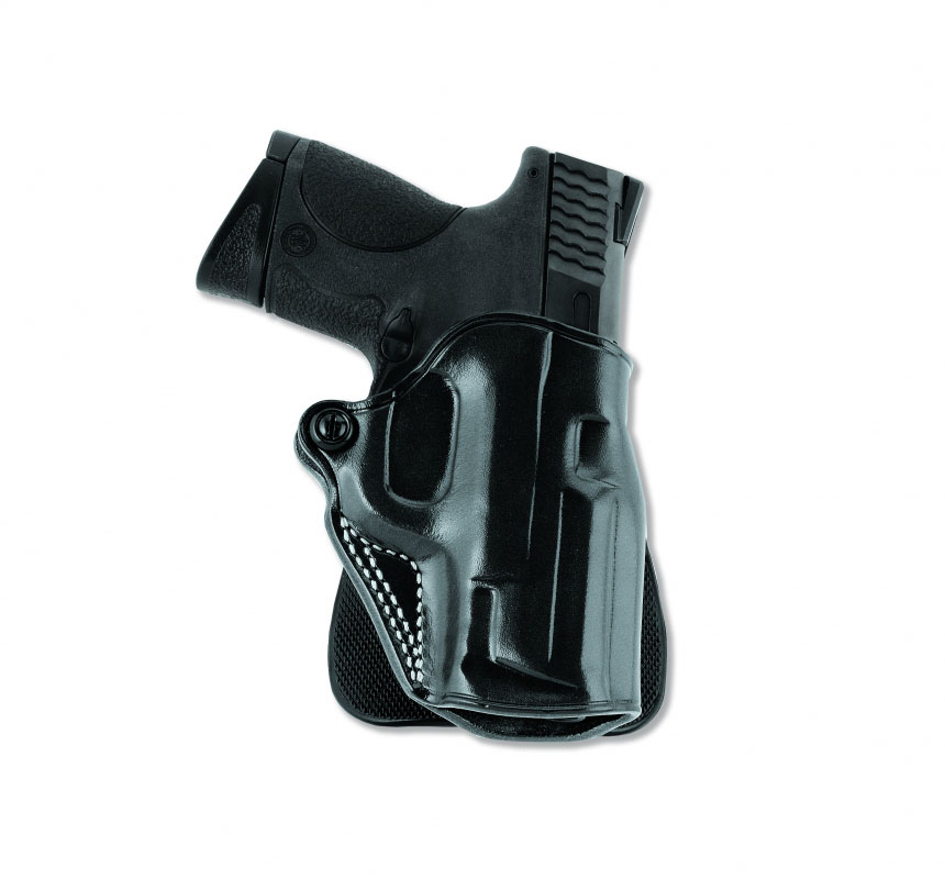 Galco SPD266B Speed Paddle Kimber 1911 w|4 Barrel Steerhide Black in.