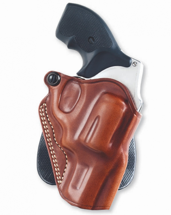 Galco Speed Paddle Ruger LCR RH Tan|Black