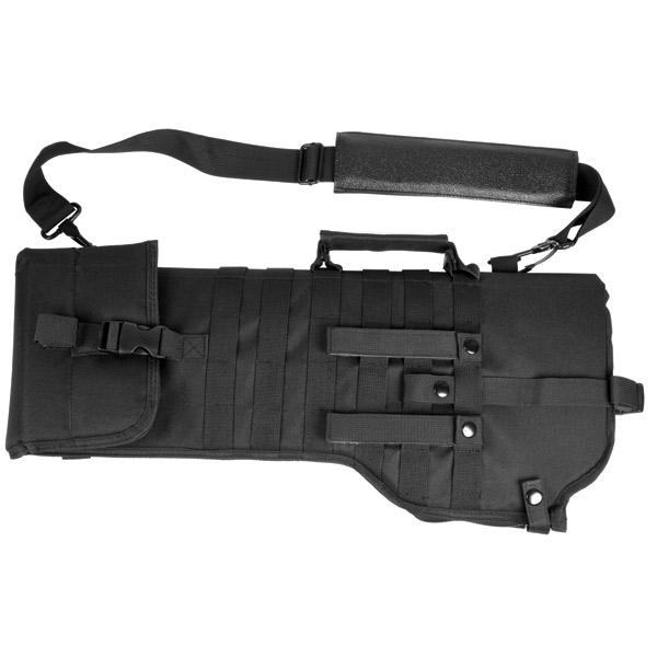 NcStar CVRSCB2919B Tactical Rifle Scabbard 28.5x9.5 600x300D PVC Black in.