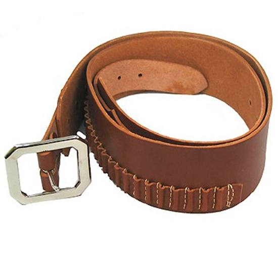 Hunter Company 1451L Cartridge Belt 2 45 Cal Large 40-45 Leather Brown in.