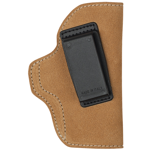 Blackhawk Suede Leather Angle Adjustable ISP Holster for Glock 19|Springfield XD Compact and other Compact 9mm|.40 Caliber Right Hand Brown