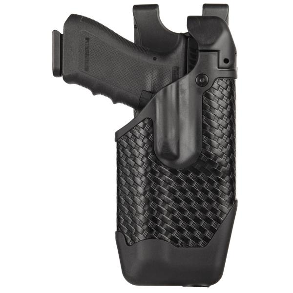 BlackHawk! 44E000BW-R Epoch Level 3 Light Bearing Duty Holster Glock 17|22|31. Baskwetweave Black, Right Hand