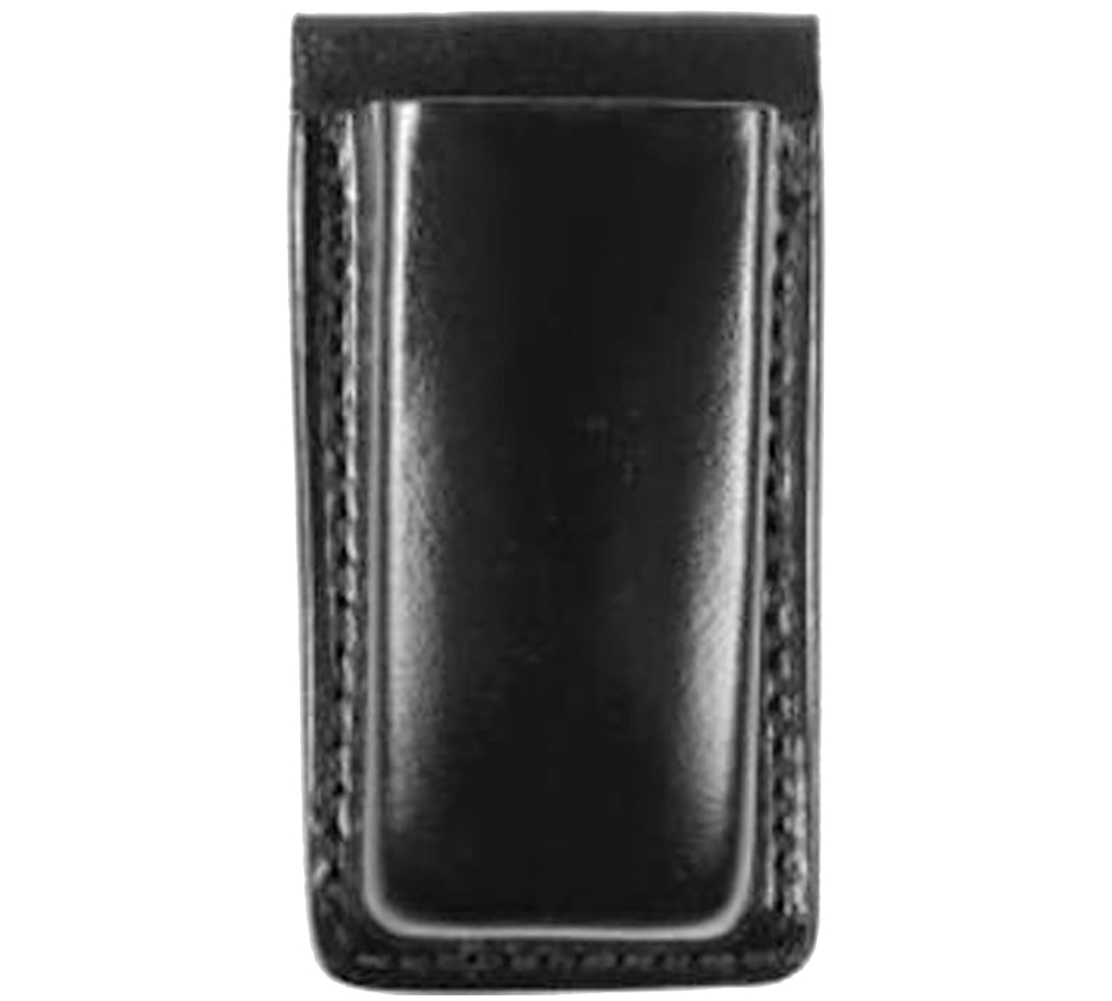 Bianchi 18056 20A Open Magazine Pouch Glock 17|19|22|23|30 Up to 1.75 Leather Black in.