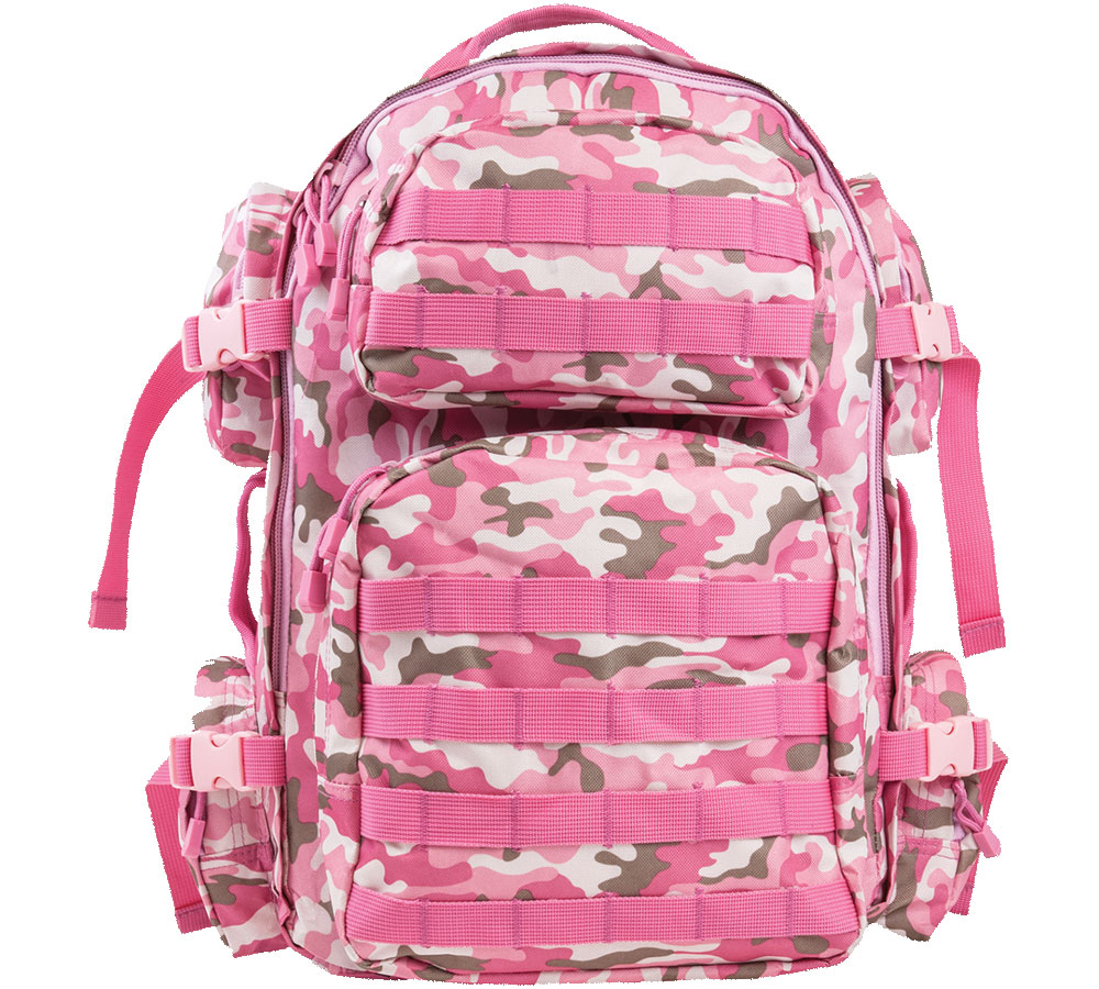 NC Star TACT BACK PACK PINK CAMO