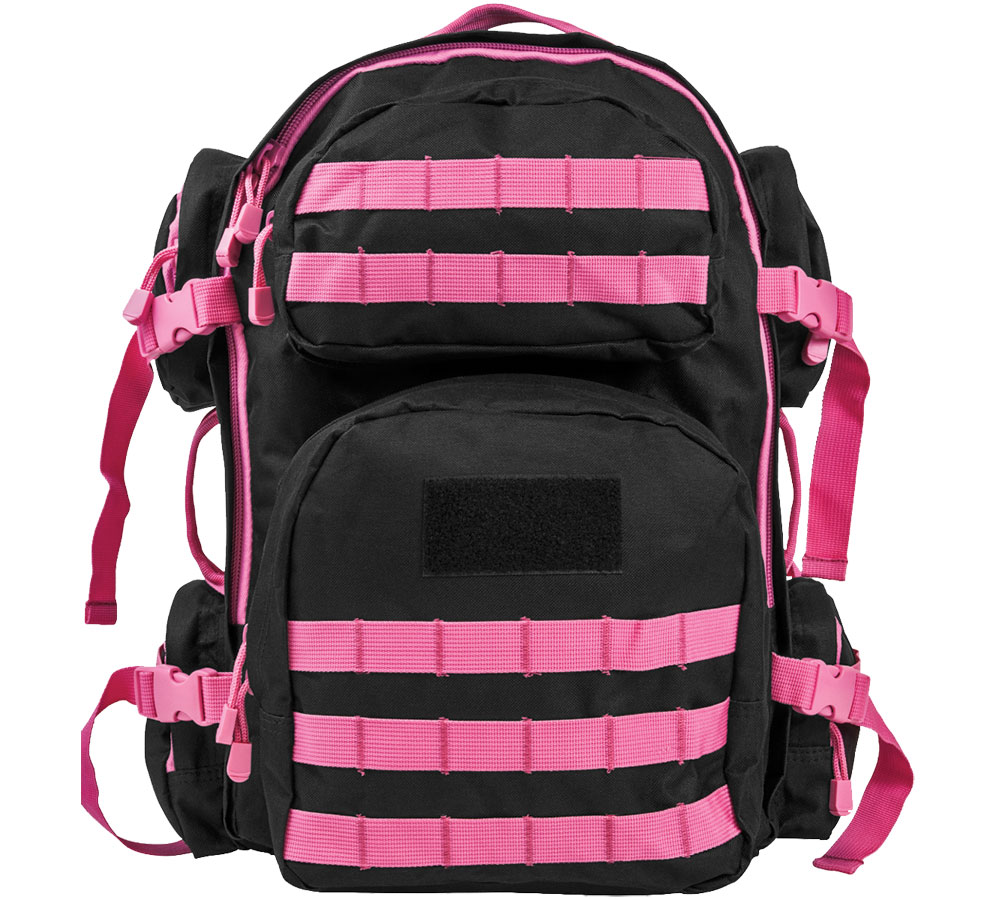 NC Star TACT BACK PACK BLK W|PNK