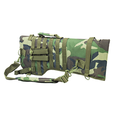 NC Star Tactical Rifle Scabbard Woodland Camo