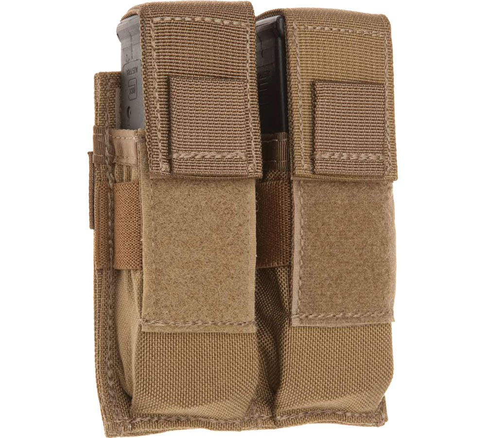 Tac Shield COYOTE DOUBLE UNI PISTOL MO