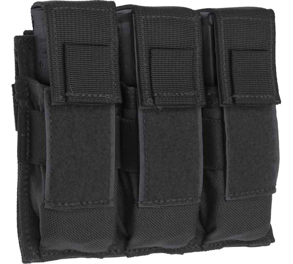 Tac Shield BLACK TRIPLE UNI PISTOL MO