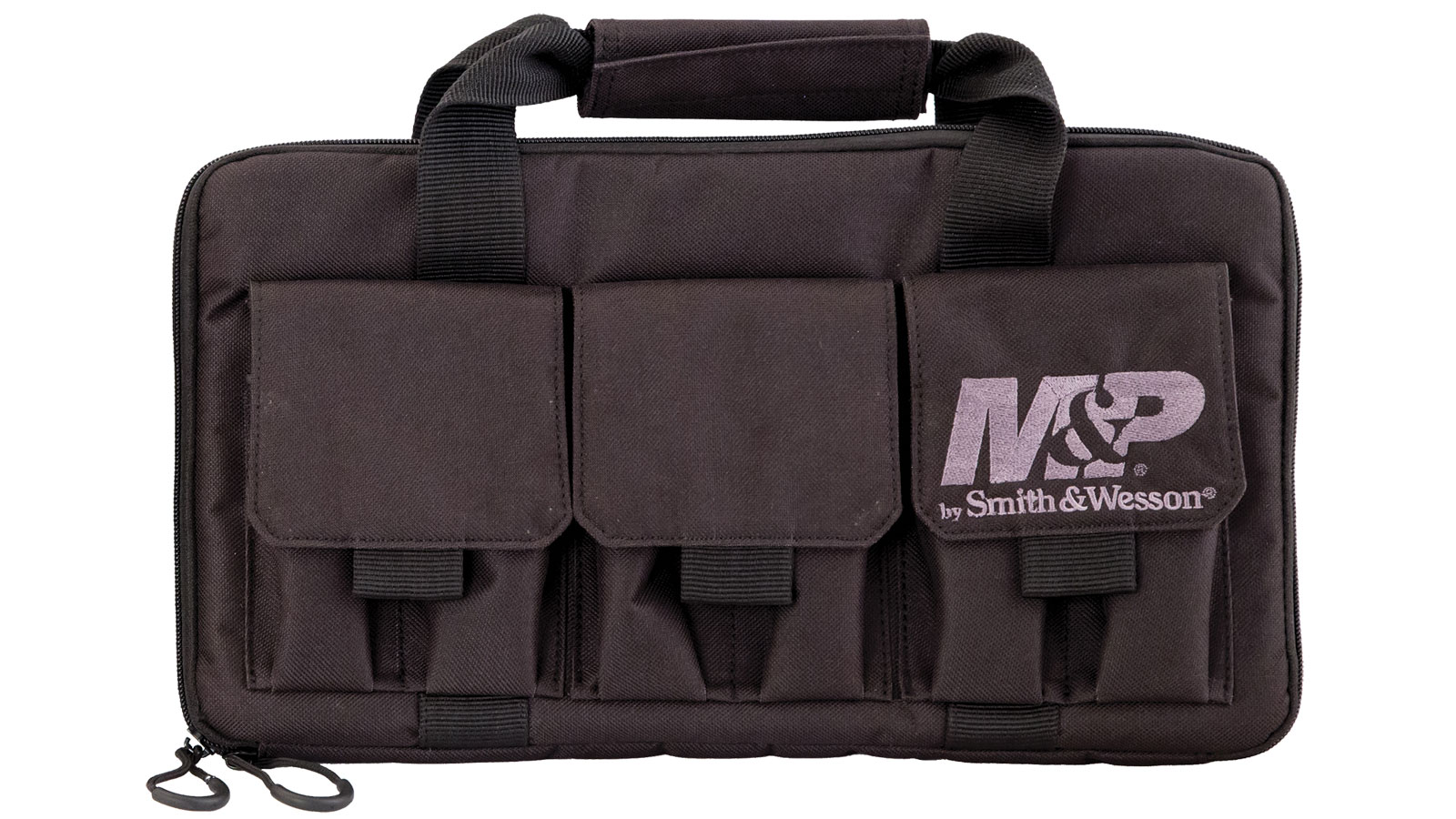 M&P Accessories 110029 Pro Tac Double Handgun Gun Case Nylon Smooth