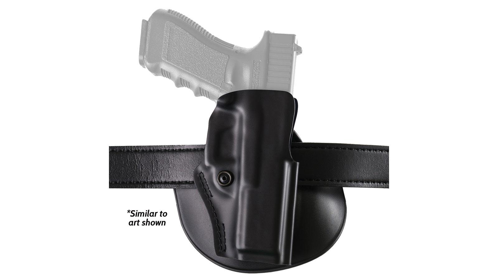 Safariland 5198283411 5198 Paddle Holster Glock 19|23 Thermoplastic Black
