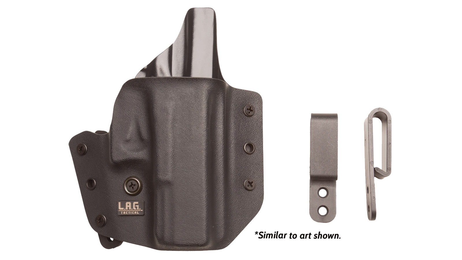 L.A.G. Tactical Defender Holster for the Springfield XD 9|40 4 Inch Right Hand