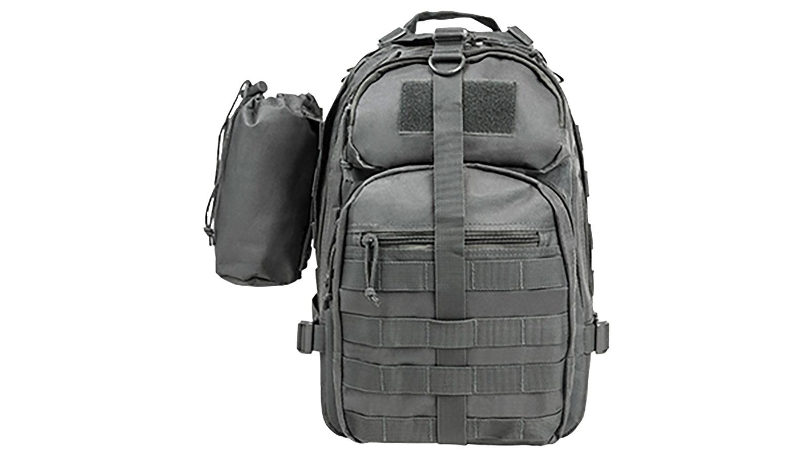 NC Star Small Backpack|Bottle Holder Urban Gray