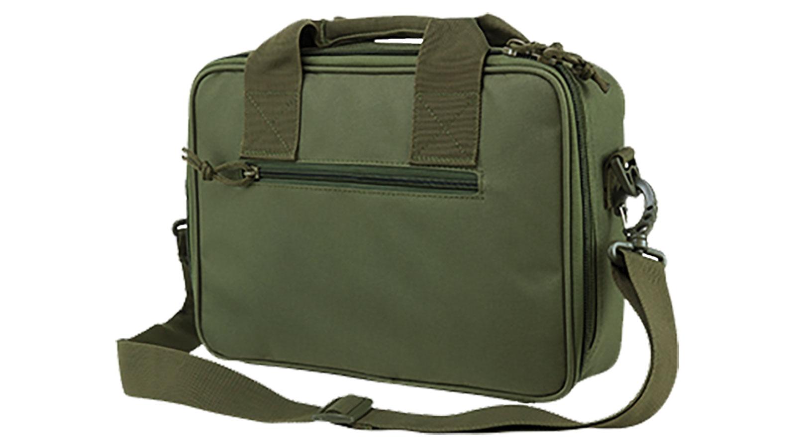 NCStar CPDX2971B Double Pistol Range Bag Pistol Case Black Double Pistol Range Bag