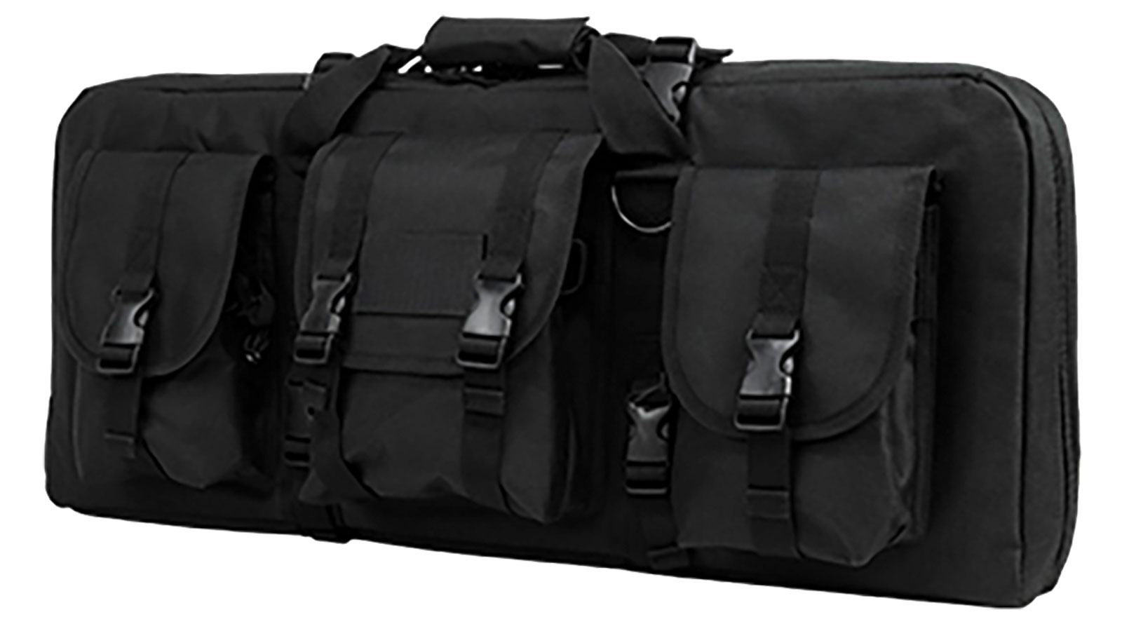 NC Star AR15 and AK Deluxe Carbine Pistol Case Black