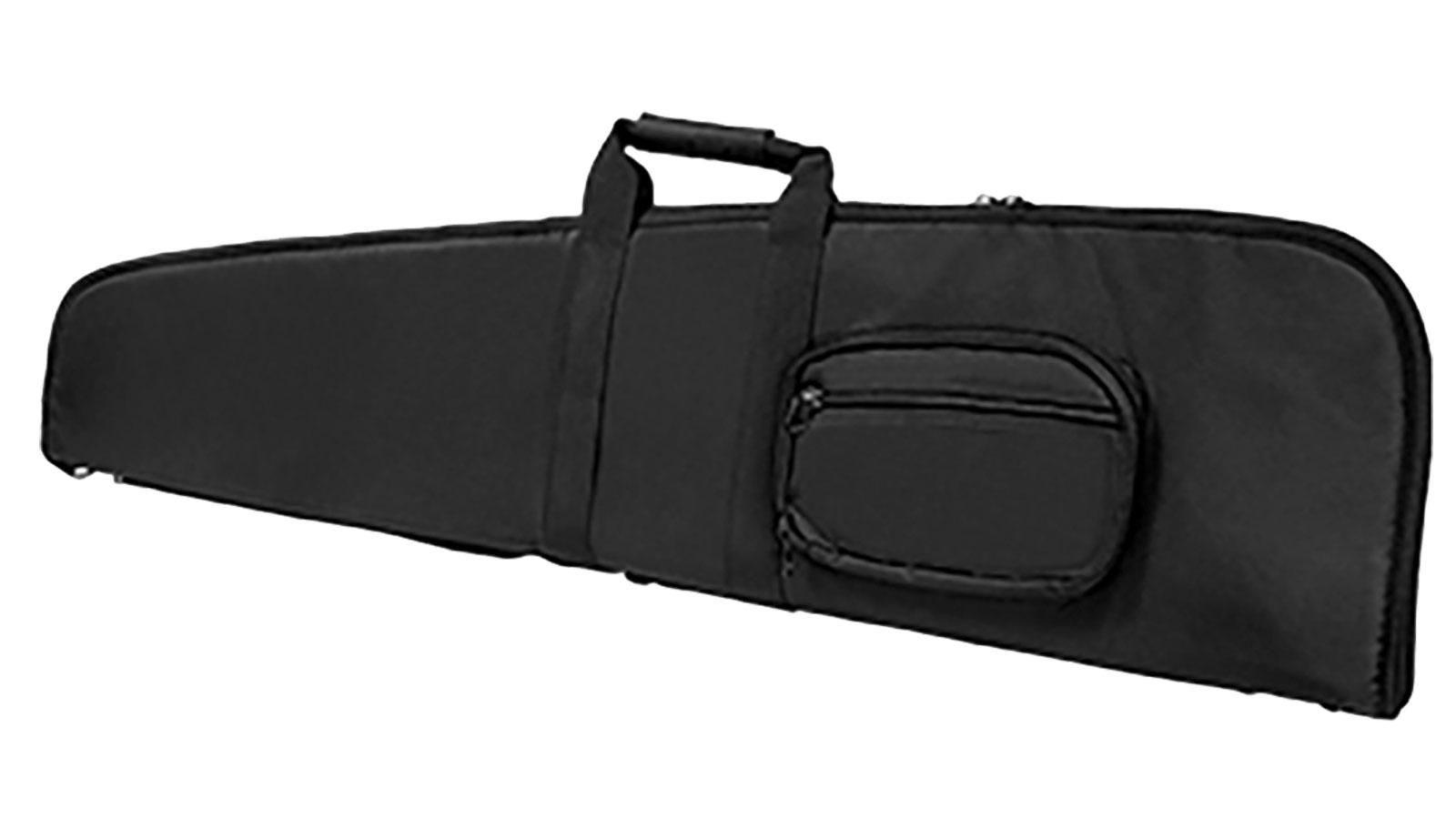 NcStar CVS290652 Scope-Ready Rifle Case 52 Foam-Lined PVC Tactical Nylon Black in.