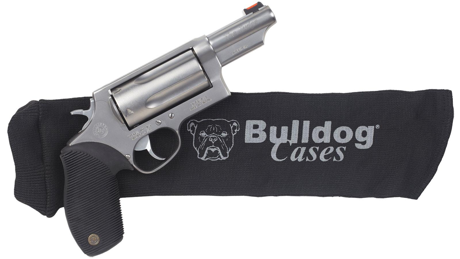 Bulldog BD150 Gun Sock Handgun Knit Black 14 L x 4 in.  W in.