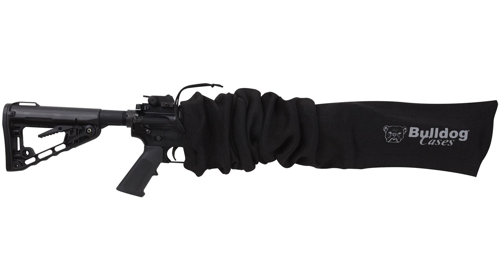 Bulldog BD158 Tactical Gun Sock 45 x 6 in.  Black in.