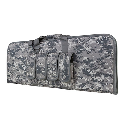 NCStar CVCP2960D36 2960 Rifle Case PVC Tactical Nylon Smooth 36x13 in. Digital Camouflage in.