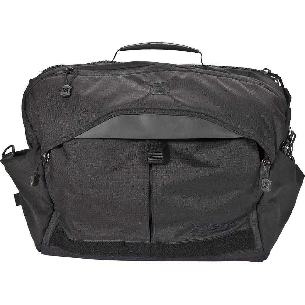 Vertx VTX5005 EDC Courier Bag Internal Organization 13 x 18 in.  x 6 in.  Black in.