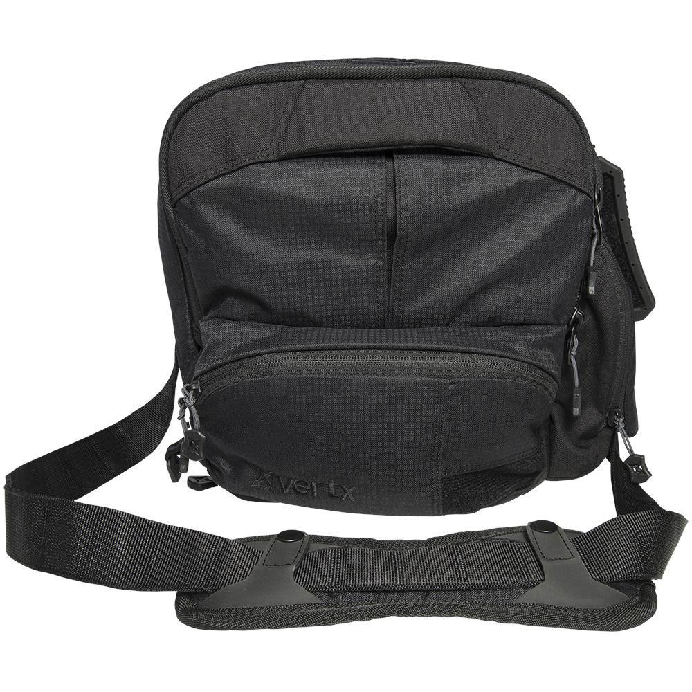 Vertx VTX5030BK EDC Essential Bag  Satchel 12 x 12 in.  x 6 in.  Black in.