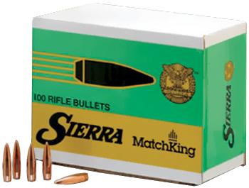 Sierra 1400 MatchKing 22 Caliber .224 53 GR Hollow Point 100 Box