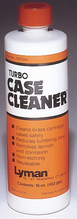 Lyman 7631340 Turbo Case Cleaner Universal 16 fl oz