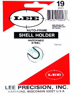 Lee 90023  #1 Shell Holder Each 30 Luger|30 Mauser|9mm|38 Super #19