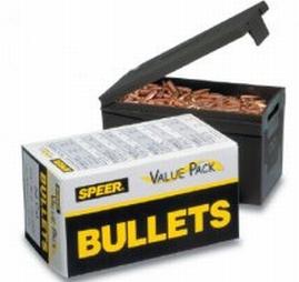 Speer Ammo 4734 Rifle Plinking 40 Caliber .400 180 GR Total Metal Jacket 400 Box