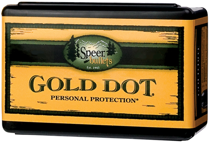 Speer Bullets 3994 Gold Dot Personal Protection 9mm .355 115 GR Hollow Point 100 Box