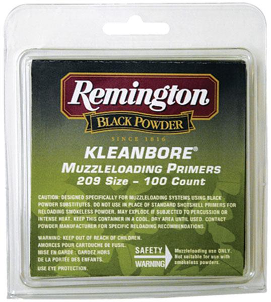 Remington KLEANBORE MuzzleLDNG Primer