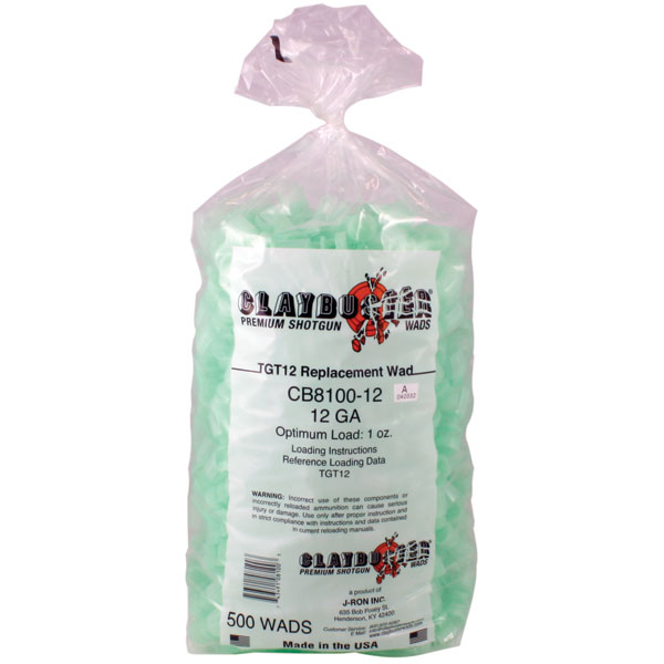 Claybuster Replacement Wads - Per 500 - Clay