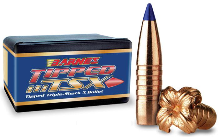 Barnes Bullets 30208 Rifle 6mm .243 80 GR TTSX BT 50 Box