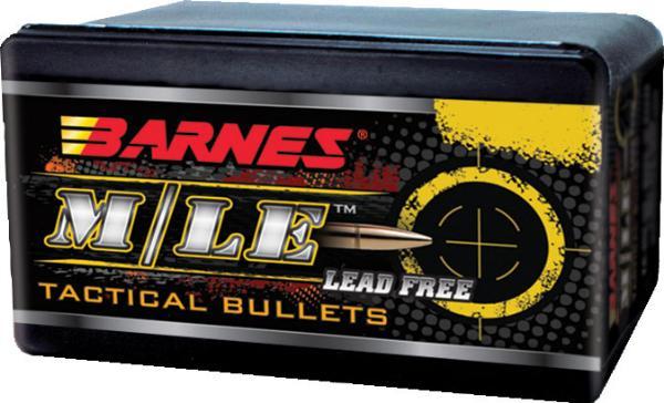 Barnes Bullets 30640 Tactical 458 Caliber .458 300 GR TAC-TX Boat Tail 50 Box