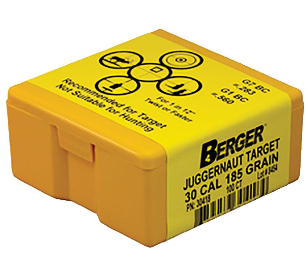 Berger Bullets 30418 Target   185 GR  100 Box