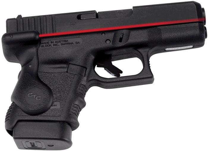 Crimson Trace LG629 Lasergrip Red For Glock Gen3 Sub-Cmpct 29|30 Rear Activation