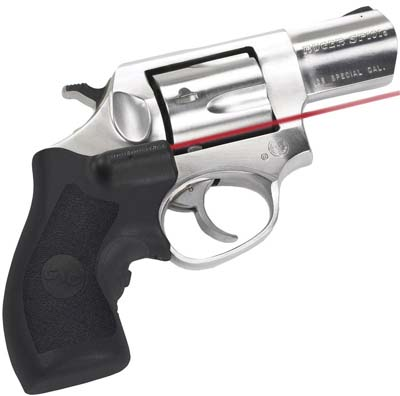 Crimson Trace LG111  Lasergrips Red Ruger SP101 .5@50ft Blk Poly in.