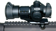 ADCO TAC Mirage 1x 35mm Obj Unlimited Eye Relief 3 MOA Black