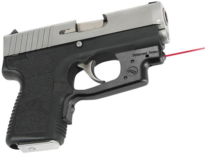 Crimson Trace LG437 Laserguard  Red Laser Kahr CW|PW 9|40 Trigger Guard Black