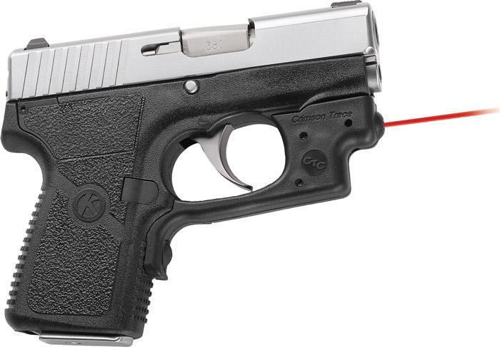 Crimson Trace LG433 Laserguard  Red Laser Kahr P380 Trigger Guard Black