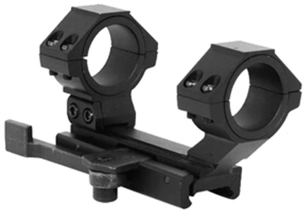 NCStar MARCQ Scope Mount For AR-15|M16 Quick Release Style Black Finish