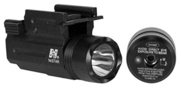 NCStar AQPTFLG Green Laser Flashlight Compact Tactical Universal w Accessory Rail