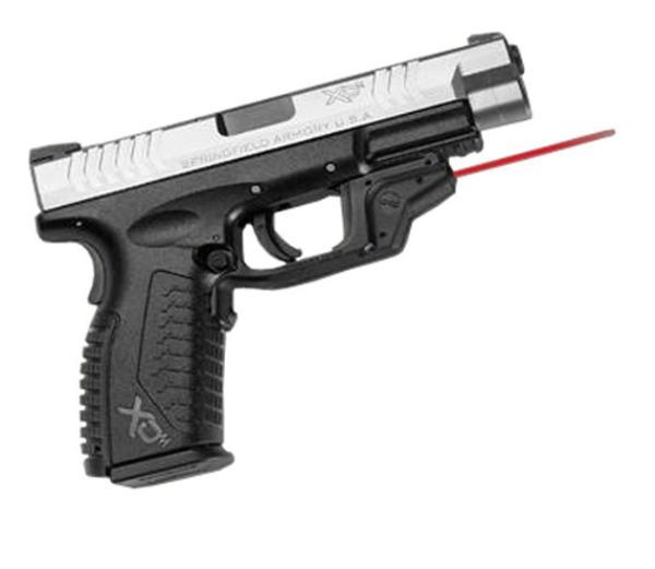 Crimson Trace LG448 Laserguard  Red Laser Springfield XD XD(M) Trigger Guard Black