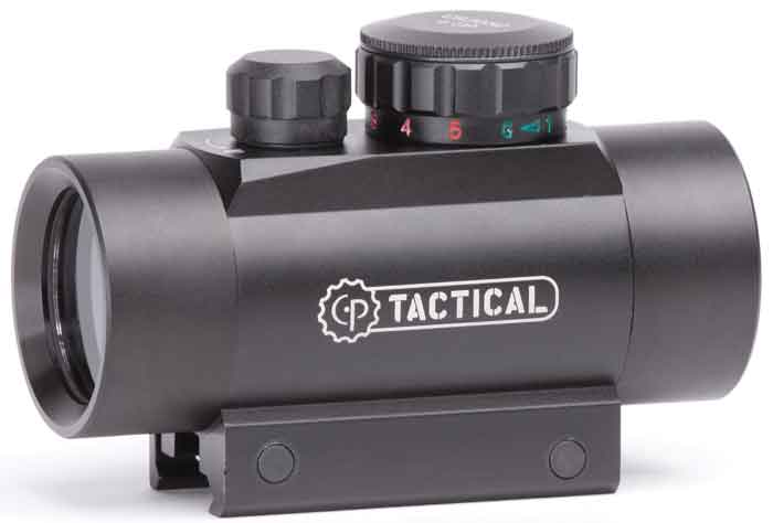 Crosman CENTER POINT 30MM ENCLOSED REFLEX SIGHT Black