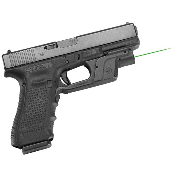 Crimson Trace LG452 Laserguard  Red Laser Glock 9|40 Trigger Guard Black