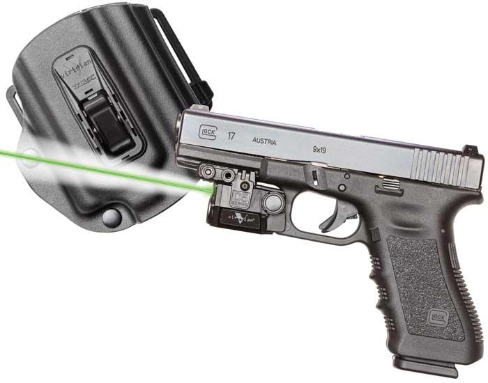 Viridian C5LPACKC1 C5L with Holster Green Laser Glock 17|19|23 Trigger Guard