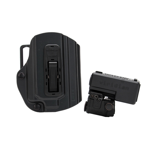 Viridian C5LRPACKC1 C5LR with Holster Red Laser Glock 17|19|23 Trigger Guard