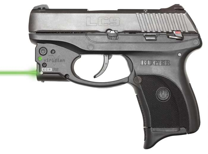 Viridian Reactor 5 Green laser sight for Ruger LC9|380 featuring ECR Includes Pocket Holster