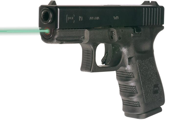 LaserMax LMS-1151G Guide Rod Green Laser For Glock 20 21 20SF 21SF (Gen 1-3) Black