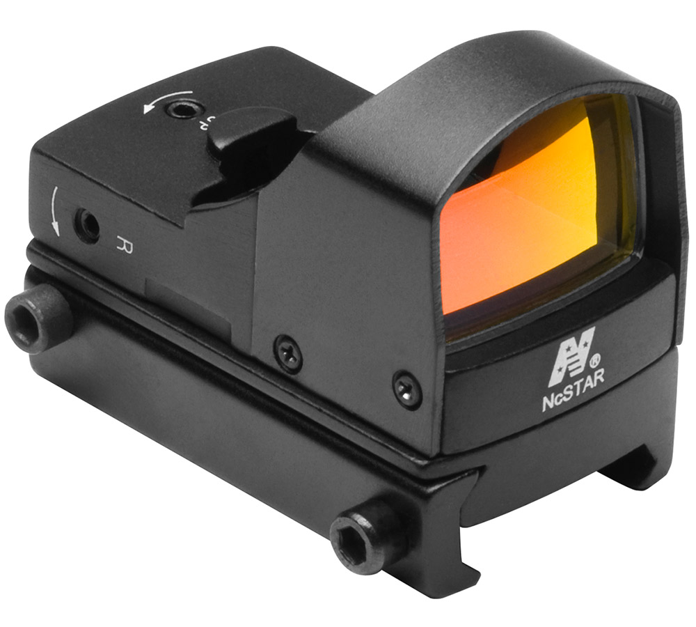 NCStar DDAB Red Dot Compact 1x 23.5x16.8mm Obj Unlimited Eye Relief 2 MOA Black