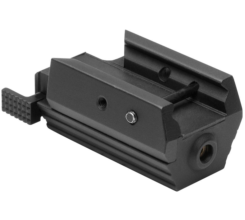 NCStar Tact Pistl Red Laser Access Rail Alum